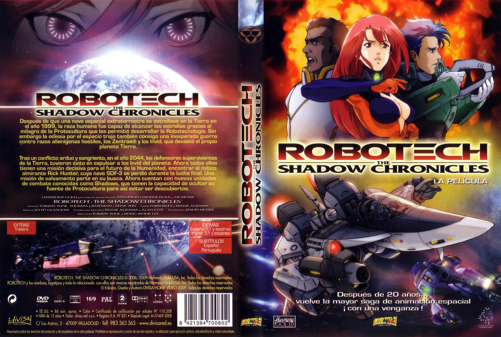 Robotech The Shadow Chronicles The Movie Robotech Shadow Chronicles Characters